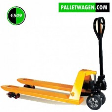 Palletwagen pompwagen 2000 Kg  extra lange lepels 200 cm